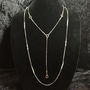 Jewelry - Simply Elegant 2-strand Necklace JJ198